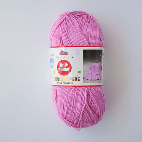 Himalaya Everyday Bebe 4 Ply Acrylic - Pink