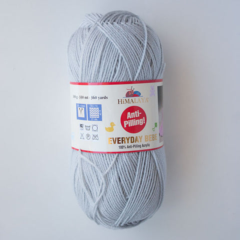 Himalaya Everyday Bebe 4 Ply Acrylic - Grey