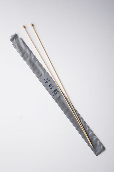 2mm Bamboo knitting needles