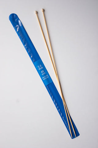 3mm Bamboo knitting needles