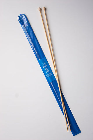 4.5mm Bamboo knitting needles