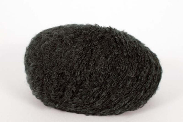Alpaca Boucle DK - 8 Ply Wool Equivalent - Dark Brown