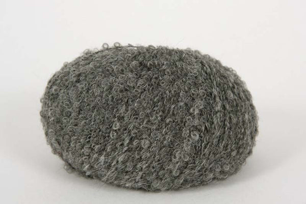 Alpaca Boucle DK - 8 Ply Wool Equivalent - Charcoal Grey