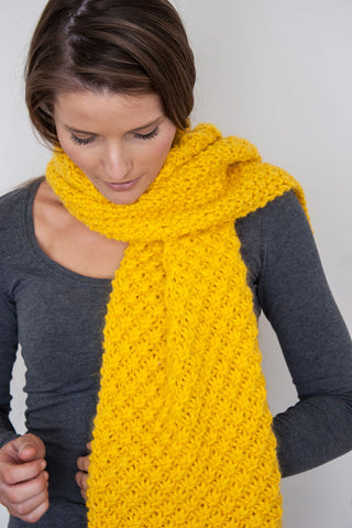 100% Baby Alpaca Grande 14 Ply Wool Equivalent - Sunflower Yellow