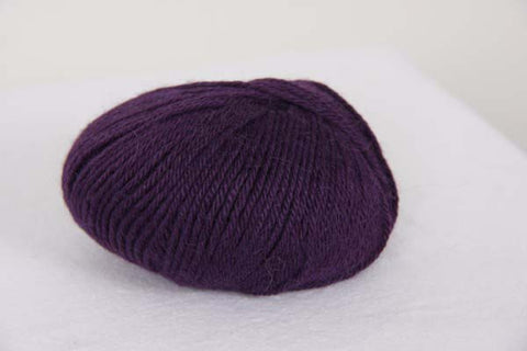 Indiecita 100% Baby Alpaca DK - 8 Ply Wool Equivalent - Deep Purple