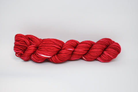Koigu KERSTI Hand Paint DK Red/White Flecks