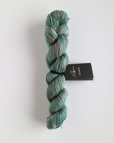 6 Karat Wool and Silk 3 Ply Yarn - Country River