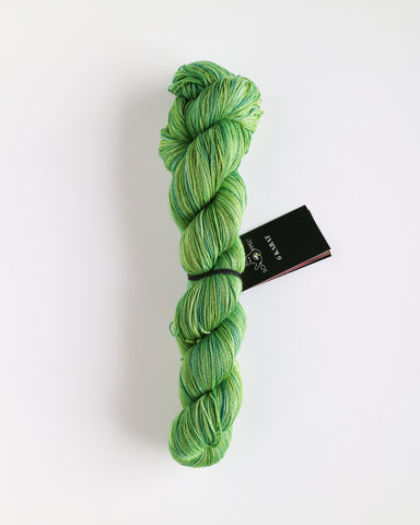 Karat Wool and Silk 3 Ply Yarn - Frog Prince