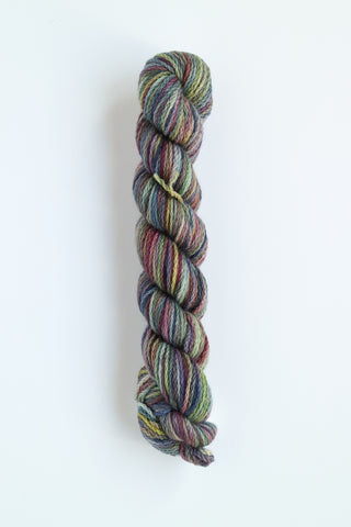 KERSTI Hand Paint DK Multi Purples and Sea Green