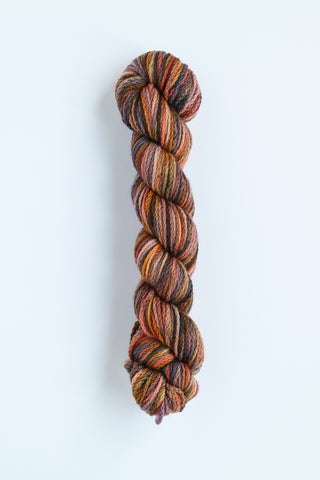 Koigu KERSTI Hand Paint DK Salmon with Steel and gold