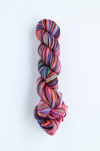 Koigu KERSTI Hand Paint DK Purple, Pink Teal and Yellow