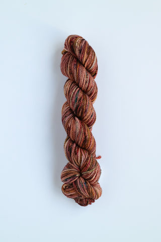 Koigu KERSTI Hand Paint DK Multi Browns with Pink Tinges