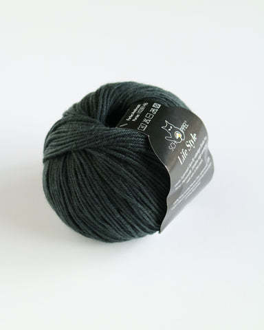 Life Style 4 Ply Merino Super wash - Anthracite