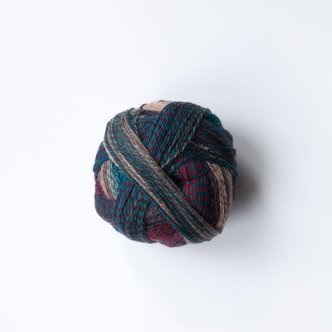 Sock Yarn - Crazy Zauberball 4 Ply Wool - Autumn Wind