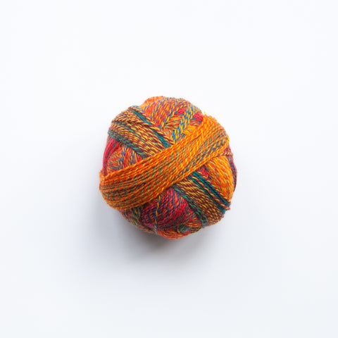 Sock Yarn - Crazy Zauberball 4 Ply Wool - Papillion