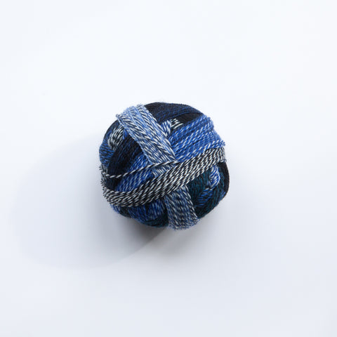 Sock yarn - crazy zauberball Blue Break
