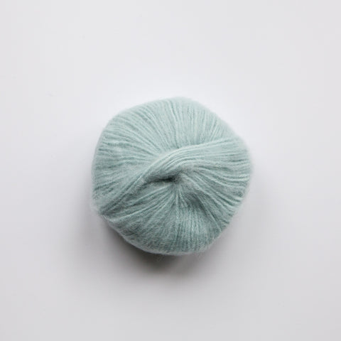 Brushed Baby Alpaca 14ply Wool Equivalent - Duck Egg blue