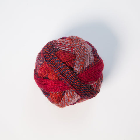 Sock Yarn - Crazy Zauberball 4 Ply Wool - Non Ferrous Metal