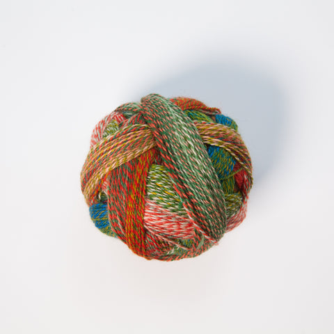 Sock Yarn - Crazy Zauberball 4 Ply Wool - Parrot