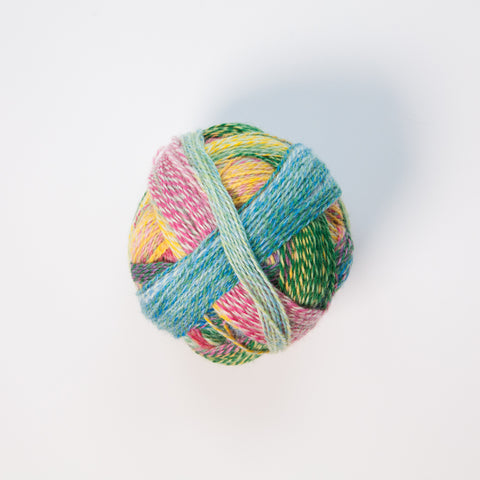Sock Yarn - Crazy Zauberball 4 Ply Wool - Painted Lake