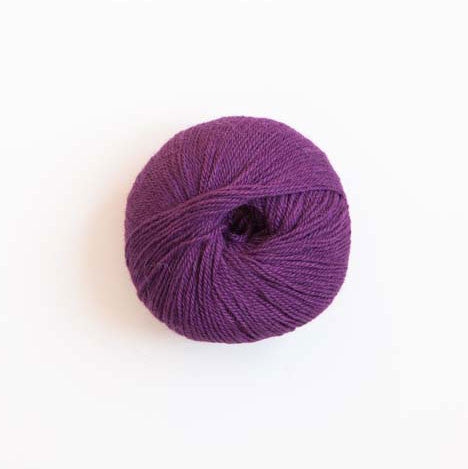 Indiecita 100% Baby Alpaca 4 Ply Wool Equivalent - Purple