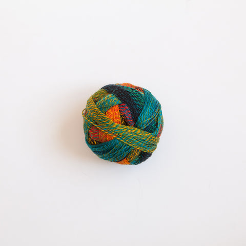 Sock Yarn - Crazy Zauberball 4 Ply Wool - Tropical Fish