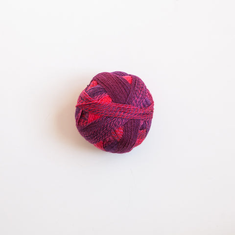 Sock Yarn - Crazy Zauberball 4 Ply Wool - Indian Red