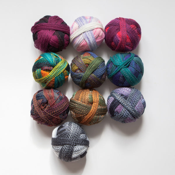 Sock yarn - crazy zauberball domino