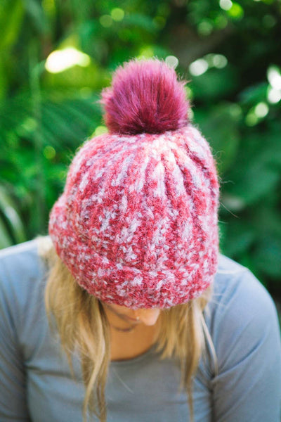 FREE Beanie knitting pattern download 2809 - Ribbed Laja