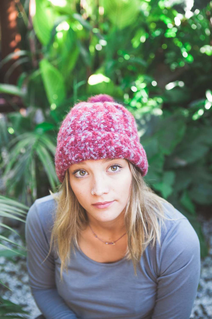 FREE Beanie knitting pattern download 2809 - Ribbed Laja – Woolworx