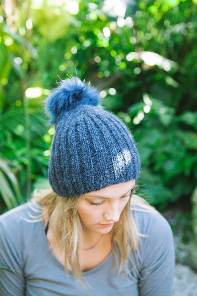 Free Beanie Knitting Pattern Download 2713 Ribbed Alpaca Woolworx