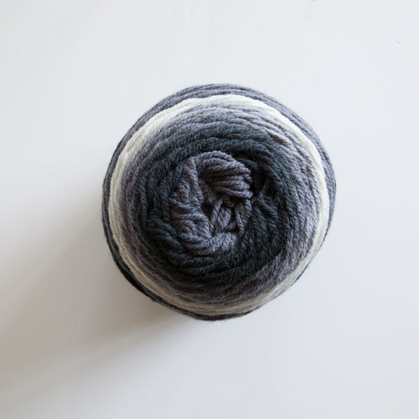 Magic Colour Yarn Cakes 10 Ply Acrylic Polyester Wool Mix - Multi Grey