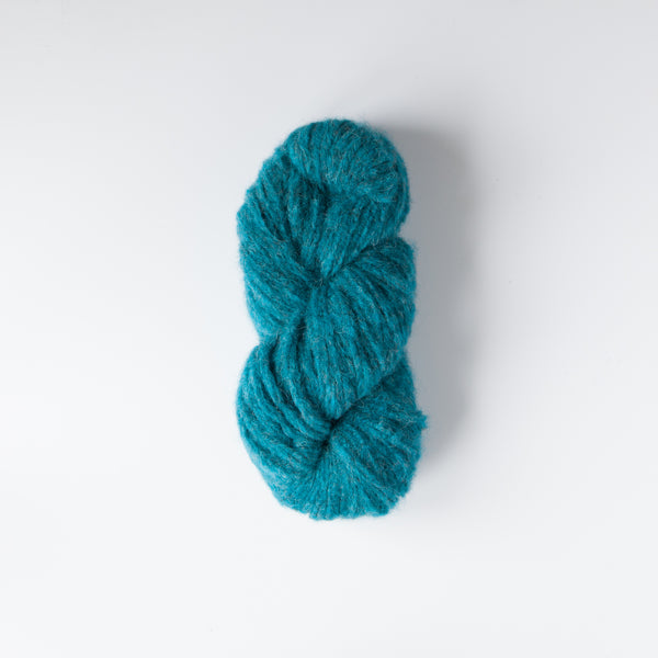 Alpaca Brushed Chunky Teal
