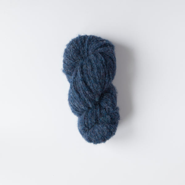 Alpaca Brushed Chunky 20 Ply Wool Equivalent - Blue