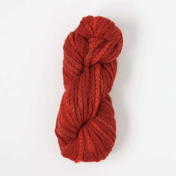 Alpaca-merino chunky yarn orange chaine