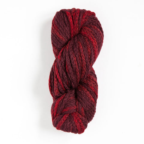 Alpaca-merino chunky yarn red
