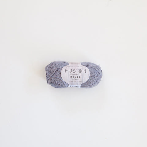 Fusion Sulco Llama/Lyocell 3 - 4 Ply Wool Equivalent - Silver