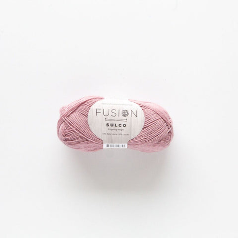 Fusion Sulco Llama/Lyocell 3 - 4 Ply Wool Equivalent - Soft Pink