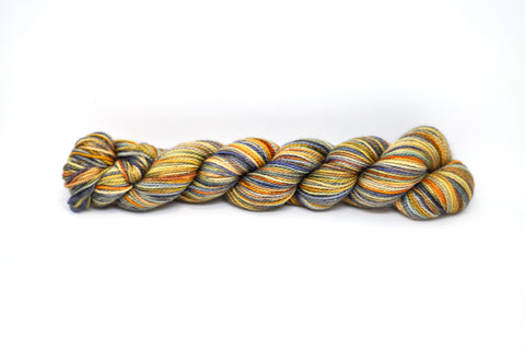 Koigu Hand Paint New Day Collectors Club Blue/Orange - Fine 4Ply