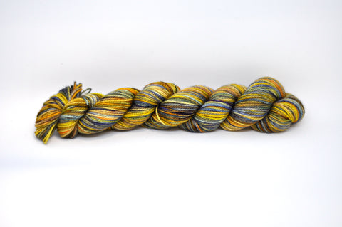 Koigu Hand Paint New Day Collectors Club Blue/Yellow/Green - Fine 4Ply