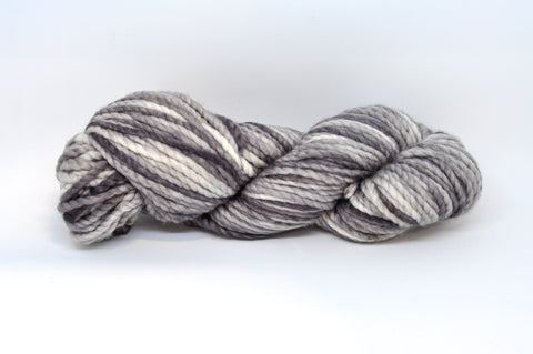 Koigu Othello Hand Paint Merino Chunky Knit Cream/Grey Mix