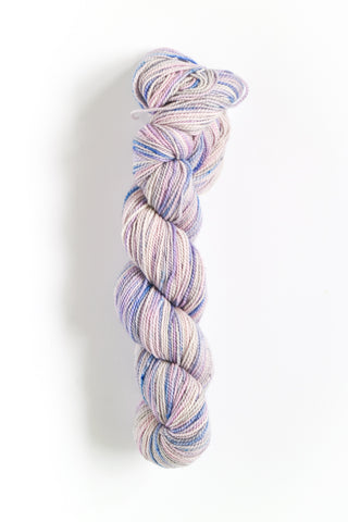 Koigu Hand Paint 4 Ply Slate Grey Lilac Mix