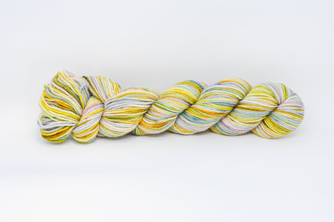 Koigu Hand Paint 4 Ply Yellow/Green/Blue