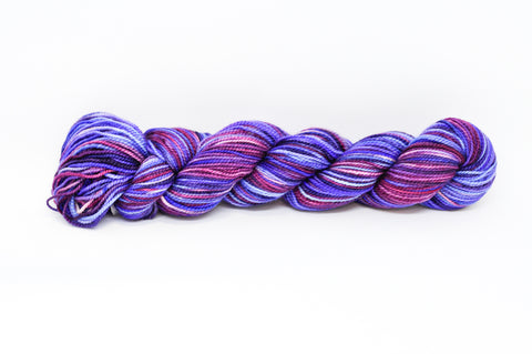 Koigu Hand Paint 4 Ply Dark Blue/Purple/Pink