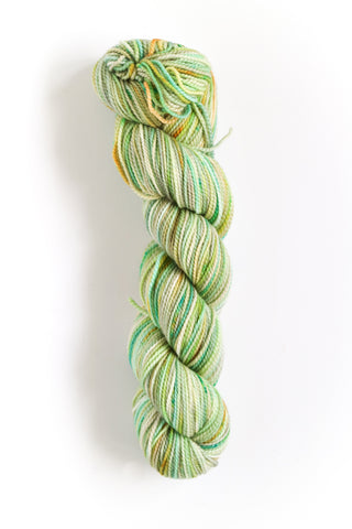 Koigu Hand Paint 4 Ply Spring Mint Lime Mix