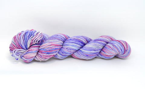 Koigu Hand Paint 4 Ply Pale Blue/Purple/Pink