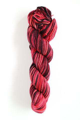 Koigu Hand Paint 4 Ply Potpurri Red Black Mix