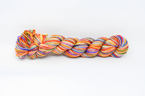 Koigu Hand Paint 4 Ply Orange/Purple Mix