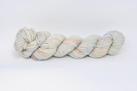 Koigu Hand Paint 4 Ply Cream with Multi Flecks