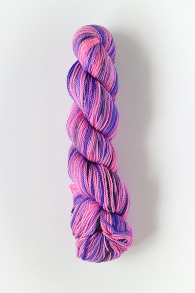 Koigu Hand Paint 4 Ply Crayons Bright Pink Purple Mix
